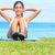 exercise woman   sit ups workout stock photo © maridav