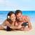strand · vakantie · paar · smartphone · foto - stockfoto © maridav