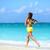 lopen · strand · zomer · training · actief · lifestyle - stockfoto © Maridav