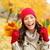 осень · женщина · улыбается · осень · портрет · счастливым · красивой - Сток-фото © maridav