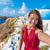 Avrupa · santorini · adası · seyahat · turist · hedef · Yunan - stok fotoğraf © maridav
