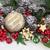 natal · bugiganga · cena · dourado · neve · árvore - foto stock © marilyna