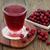 vörösáfonya · koktél · közelkép · izolált · fehér · szemüveg - stock fotó © marilyna