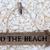 legno · segno · spiaggia · punta - foto d'archivio © marilyna