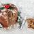 italian chocolate panettone christmas cake stock photo © marilyna