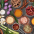 baharatlar · ahşap · gıda · meyve · mutfak - stok fotoğraf © marilyna