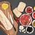 помидоров · чесночный · хлеб · здоровья · хлеб · красный - Сток-фото © marilyna