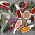 coleção · fresco · ervas · necessário · cozinha · espinafre - foto stock © marilyna