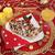 christmas · heerlijk · marsepein · cookies · vruchten · beker - stockfoto © marilyna