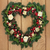 Рождества · сердце · венок · омела · белая · плющ · соснового - Сток-фото © marilyna