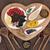 imune · comida · super · pratos · branco - foto stock © marilyna