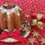 christmas · cake · ei · plakje · bessen · kaarsen - stockfoto © marilyna