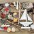 decorativo · navegação · barco · abstrato · conchas · troncos - foto stock © marilyna