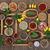 специи · чаши · продовольствие · лист - Сток-фото © marilyna