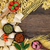 comida · italiana · pesto · pasta · frontera · ingredientes · italiano - foto stock © marilyna