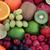 fresh fruit super food background stock photo © marilyna