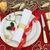 luxury christmas table setting stock photo © marilyna