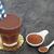 chocolade · eiwit · poeder · drinken · metaal - stockfoto © marilyna