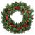 クリスマス · 歓迎 · 花輪 · 装飾 · 赤 · 星 - ストックフォト © marilyna
