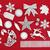 srebrny · christmas · dar · dekoracje · szkatułce · choinka - zdjęcia stock © marilyna