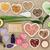 cura · ingredientes · branco · madeira - foto stock © marilyna