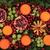 Noel · meyve · flora · mandalina · nar · yeşil - stok fotoğraf © marilyna