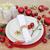 karácsony · asztal · hely · díszítések · menü · copy · space - stock fotó © marilyna