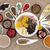 lever · gezondheid · voedsel · porselein · gerechten - stockfoto © marilyna