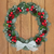 christmas · krans · witte · deur · decoratie - stockfoto © marilyna