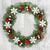 sneeuwvlok · krans · christmas · goud · snuisterij · decoraties - stockfoto © marilyna