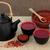 茶 · 白 · 金属 · ボール · スタジオ - ストックフォト © marilyna