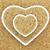 largo · grano · marrón · arroz · corazón - foto stock © marilyna