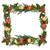 Noel · sınır · sarmaşık · ökseotu · altın · turuncu - stok fotoğraf © marilyna