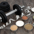 body building equipment and food supplements stock photo © marilyna