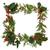 Noel · sınır · dekoratif · sarmaşık · ökseotu · sedir - stok fotoğraf © marilyna