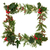 Navidad · frontera · decorativo · hiedra · muérdago · cedro - foto stock © marilyna