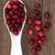 cuchara · de · madera · Berry · frutas · salud - foto stock © marilyna
