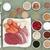 gezondheid · voedsel · lichaam · bouwers · vlees · zalm - stockfoto © marilyna