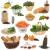 groot · gezondheid · voedsel · collectie · ingrediënten · gezond · hart - stockfoto © marilyna