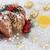 chocolade · cake · traditioneel · winter · flora · goud - stockfoto © marilyna