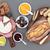 パン · カマンベール · チーズ · ジャム · 食品 · フルーツ - ストックフォト © marilyna