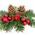Natale · decorazione · rosso · ivy · oro · pino - foto d'archivio © marilyna