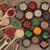 baharatlar · toplama · kaşık · 16 · ahşap - stok fotoğraf © marilyna