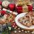 torta · Natale · gingillo · rosso · oro · frizzante - foto d'archivio © marilyna