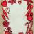 Natale · rosso · gingillo · confine · decorazioni · albero - foto d'archivio © marilyna