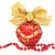 Natale · gingillo · rosso · oro · arco · perlina - foto d'archivio © marilyna