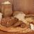 kenyér · hozzávalók · sütés · teljes · kiőrlésű · liszt · rozs - stock fotó © marilyna