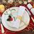クリスマス · ディナー · 赤 · キャンドル · 祝う · ディナーテーブル - ストックフォト © marilyna