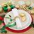 alegre · natal · jantar · natureza · morta · lugar · placas - foto stock © marilyna