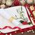 christmas · tafel · vrolijk · lint · tabel · plaats - stockfoto © marilyna